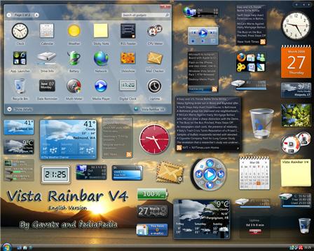 Win7  Sidebar  in  Windows  XP  الان على الاكس بي  4444410