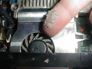 اللابتوب  FAN  تعلم طريقة تنظيف   5510