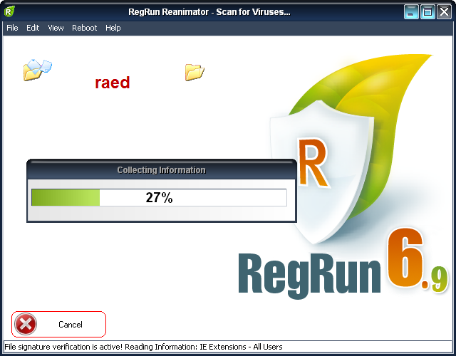 RegRun Reanimator  Microsoft 6.9.6.99  لازالة أحصنة طروادة, وملفات التجسس Rr410