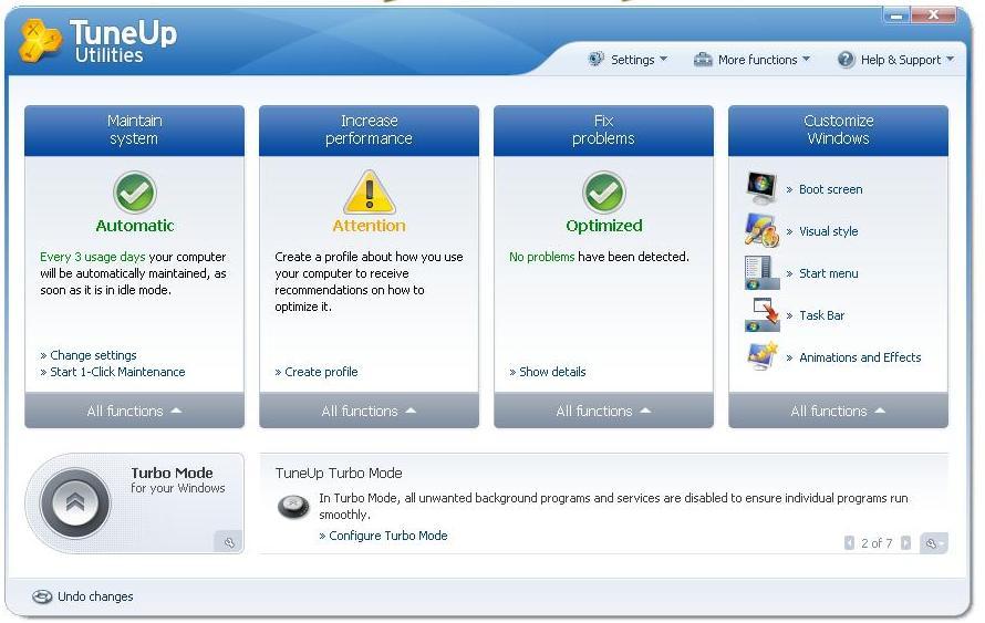 TuneUp Utilities 2010 9.0.4200.54 لافضل واسرع اداء للجهاز Tttttt11