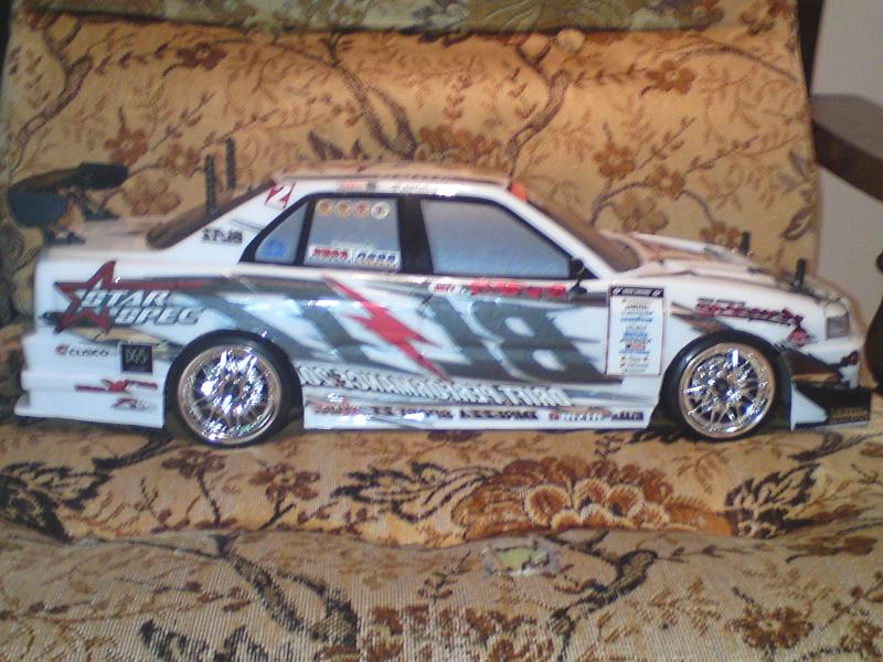 Yokomo drift pack plus type C Blitz ER34 Skyline Dsc00018