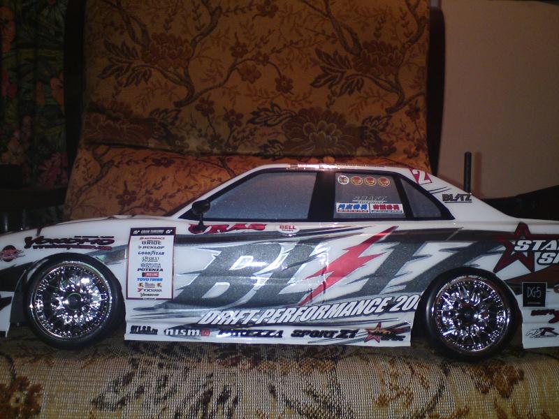 Yokomo drift pack plus type C Blitz ER34 Skyline Dsc00020