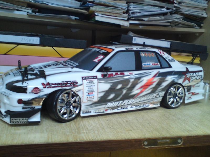Yokomo drift pack plus type C Blitz ER34 Skyline Dsc00023