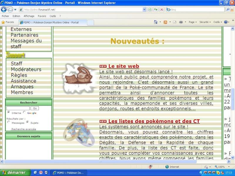 Comment avoir un site web intégré avec forumactif Captur10