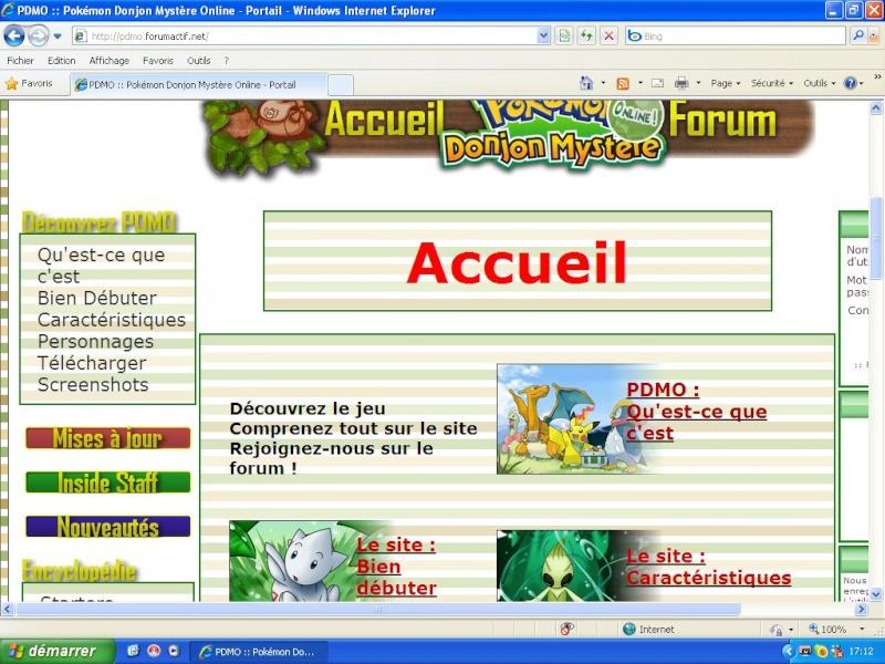 Comment avoir un site web intégré avec forumactif Preuve10