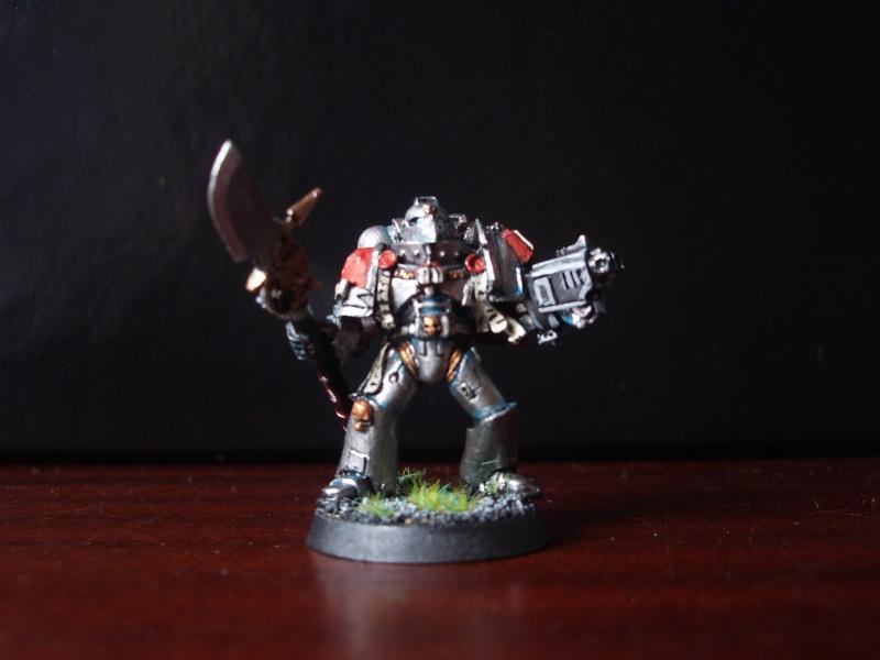 [Chevaliers Gris-Peinture] ma mini-armée de chasseurs de démons Imgp3524