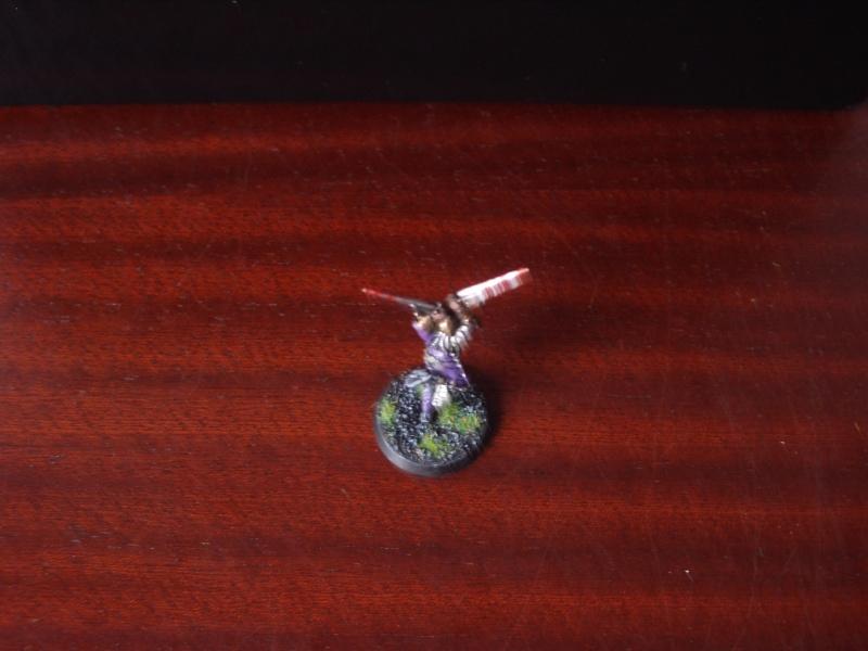 [Chevaliers Gris-Peinture] ma mini-armée de chasseurs de démons Imgp3525
