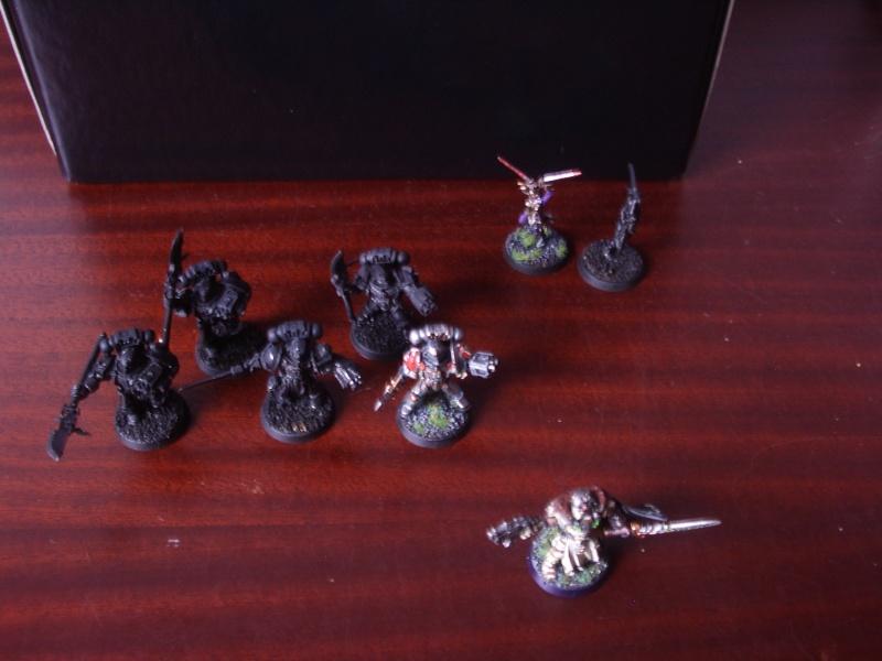 [Chevaliers Gris-Peinture] ma mini-armée de chasseurs de démons Imgp3530