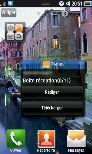 Même portables. Menus différents 20101023