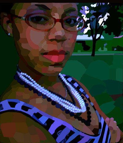 Assignment 12 - self-portrait with pen tool Due Oct 19 (Tues) 113_2410