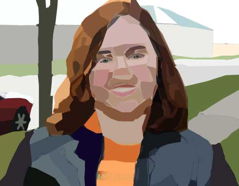 Assignment 12 - self-portrait with pen tool Due Oct 19 (Tues) Me12
