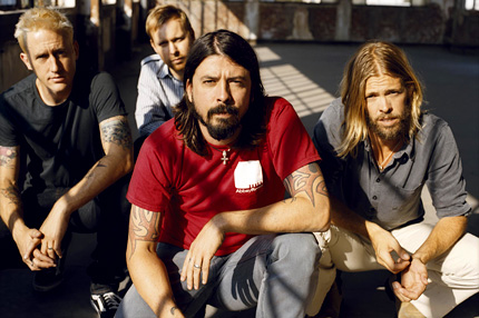 Nirvana's Grohl, Novoselic and Vig Reunite 10102710