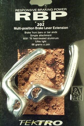 Extension pour poignée de frein [Trouvée!] 31128510