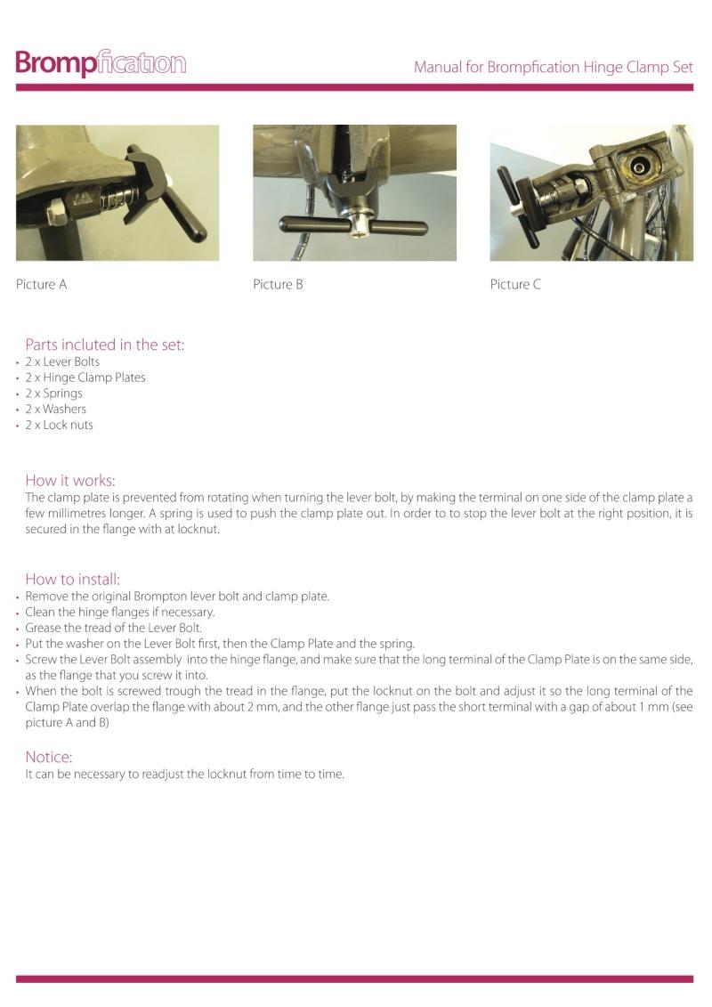 Charnières et roulettes Manual11
