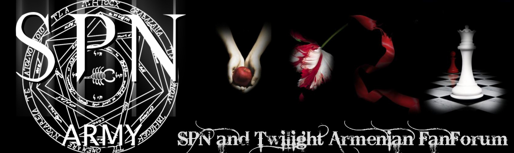 Supernatural and Twilight Armenian Fans