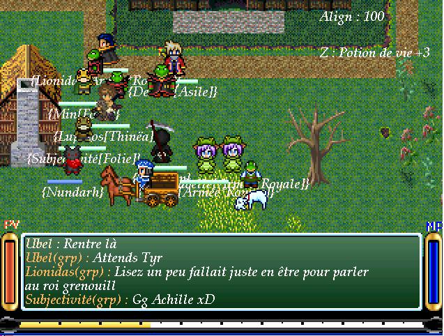 Screenshots des events Souven10