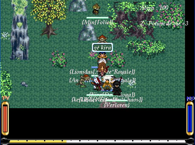 Screenshots des events Souven14
