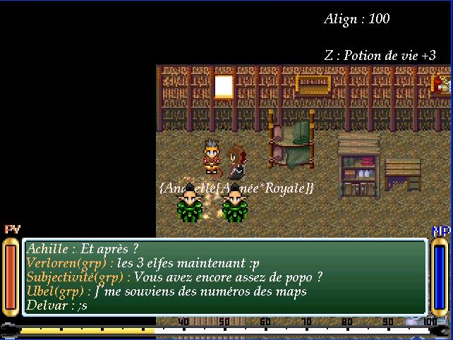 Screenshots des events Souven16