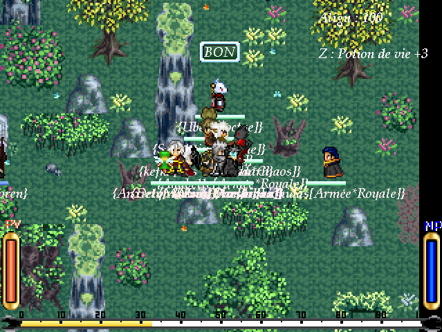 Screenshots des events Souven17
