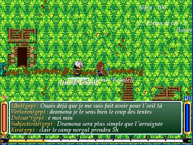 Screenshots des events Souven22