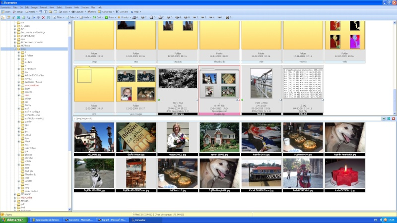 Affichage de fichiers zip Konver10
