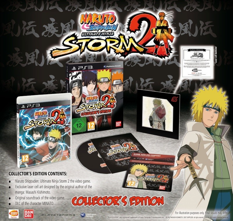 Collector's Editions of Naruto Shippuden Ultimate Ninja Storm 2 Available in the UK Collec10