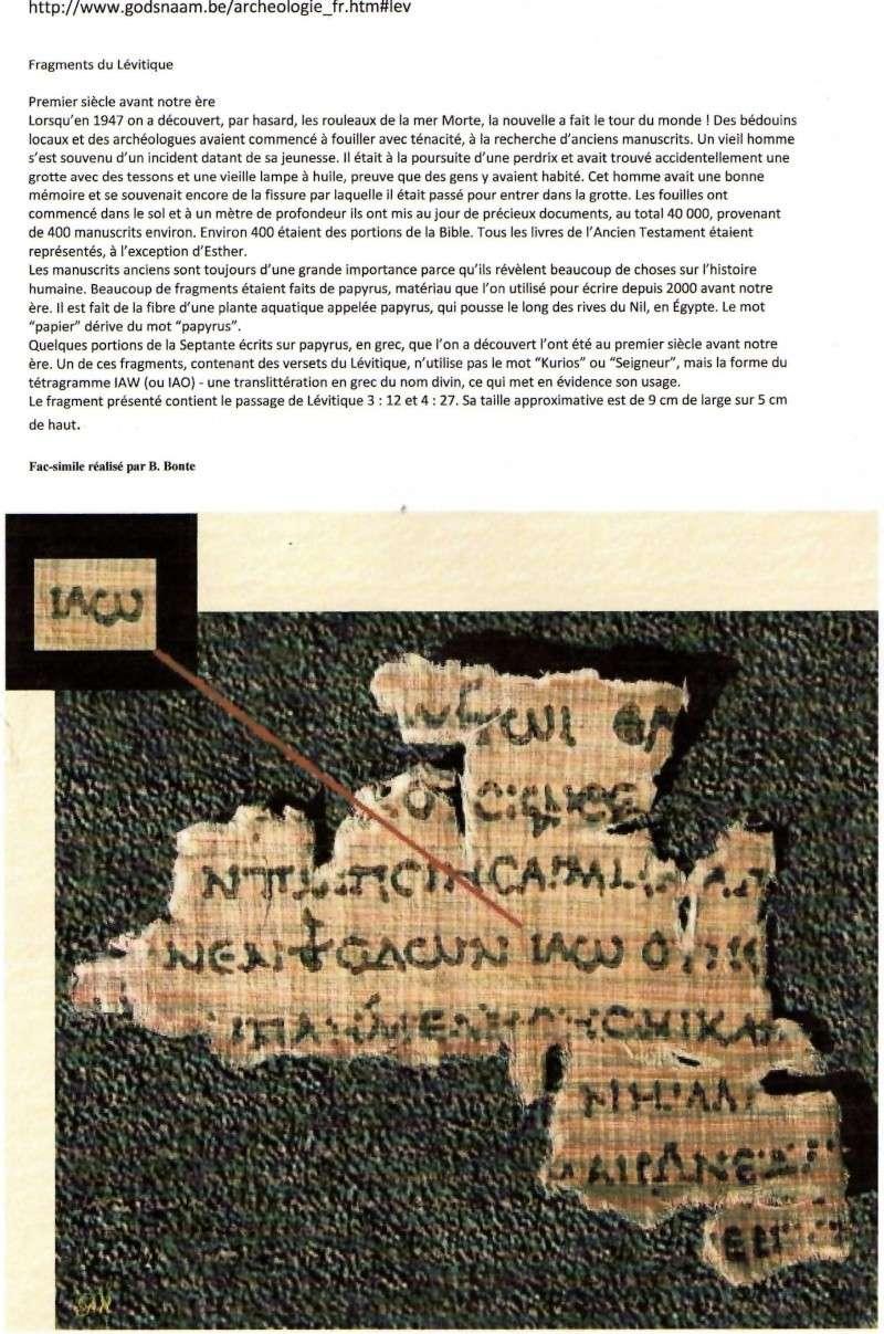 Y H W H et le nouveau testament - Page 1 Img04510