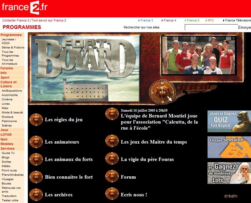 France 2 - Généralités sur le diffuseur de Fort Boyard (TV et Web) - Page 4 200510