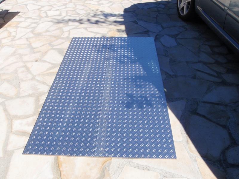 Transformation remorque bagagère Erde 193f en remorque pour Piaggio Mp3 P9190010