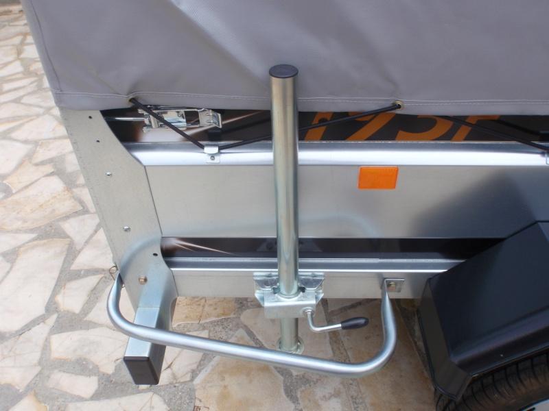 Transformation remorque bagagère Erde 193f en remorque pour Piaggio Mp3 P9210010