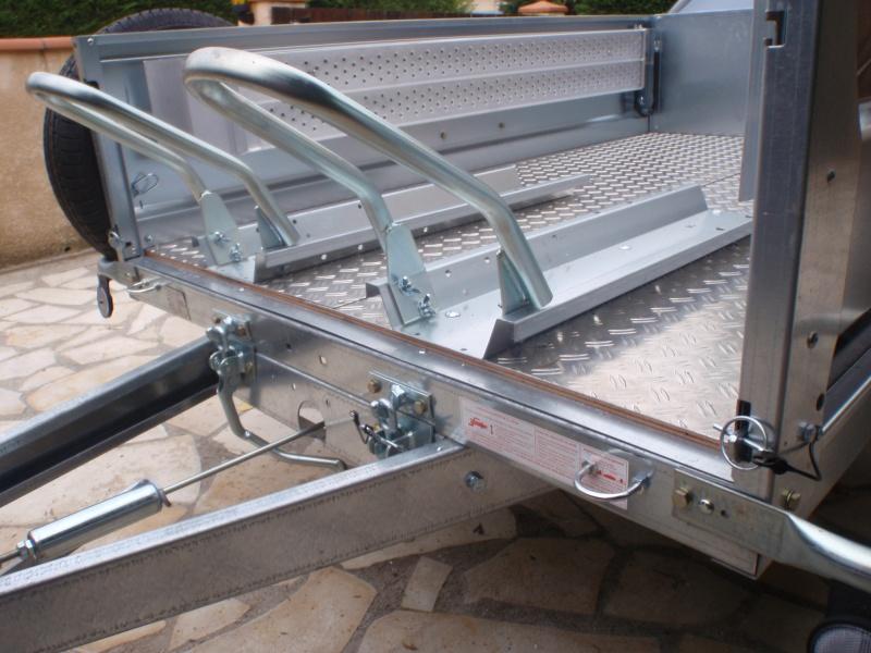 Transformation remorque bagagère Erde 193f en remorque pour Piaggio Mp3 Pa170011