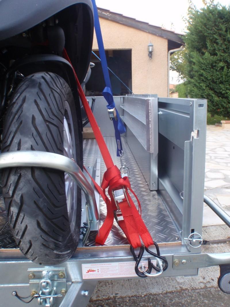 Transformation remorque bagagère Erde 193f en remorque pour Piaggio Mp3 Pa180018