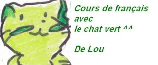 #005 – Une petite leçon de Français ...  Chat_v10