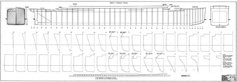 Plan MRB du Titanic Pl413