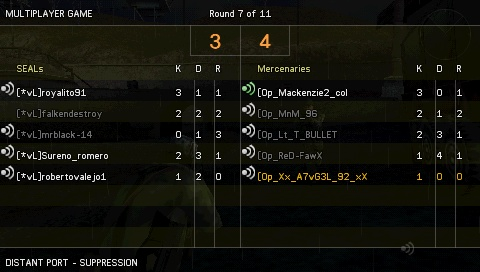 Win against [*vL] Screen15