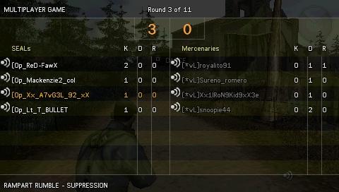 Win against [*vL] Screen22
