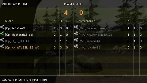 Win against [*vL] Screen23