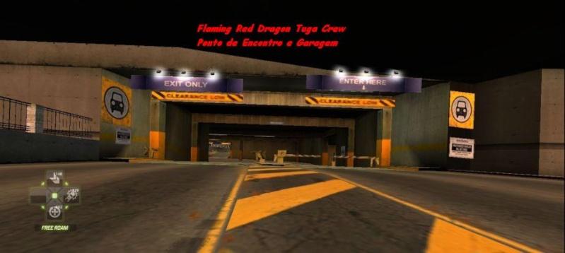 Flaming Red Dragon Tuga Crew Ponto de Encontro e Garagem Nfsw0315