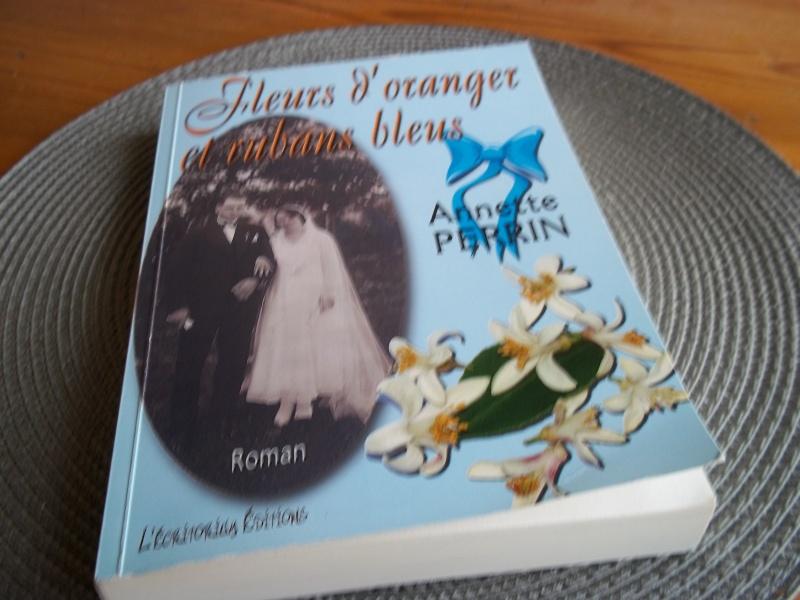 [Perrin, Annette] Fleurs d'oranger et rubans bleus Photo11