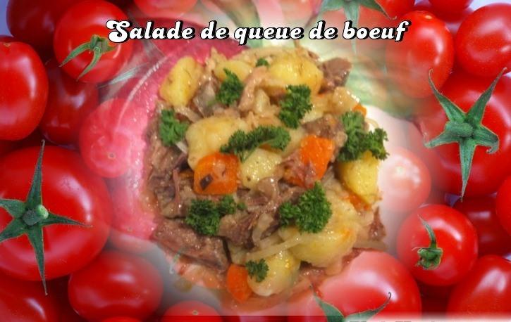 Salade de queue de boeuf. Salade11