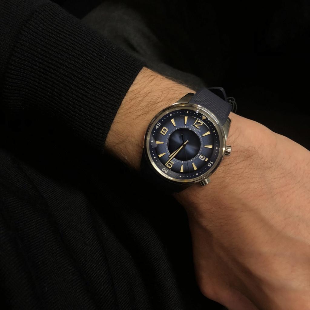 Jaeger - Jaeger-LeCoultre Polaris Date cadran bleu fumé 8f607f10