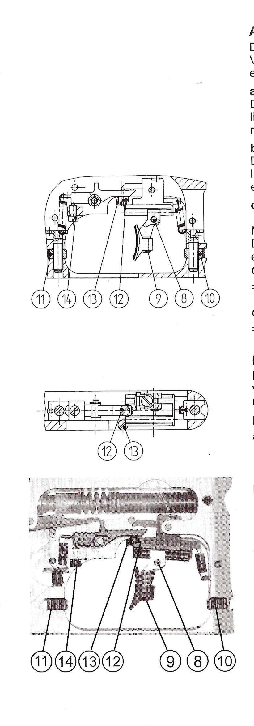 reglages detente carabine fein p700 110