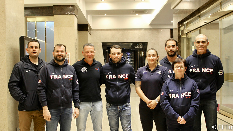 Disciplines plateau ISSF Olympiques. 47031710