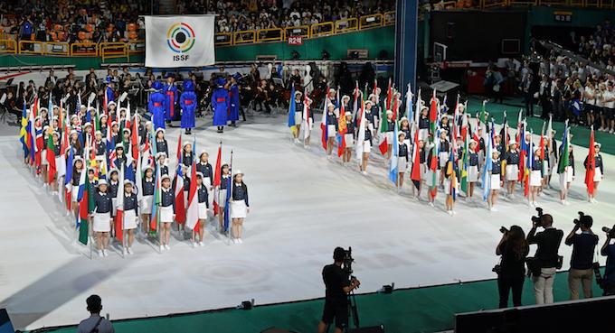 Ch du monde ISSF Corée du sud le 31 aout 2018  Cdm_is10