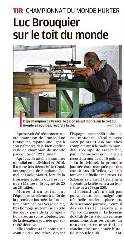 Ch du Monde Hunter 2018 ESPAGNE  Cts10