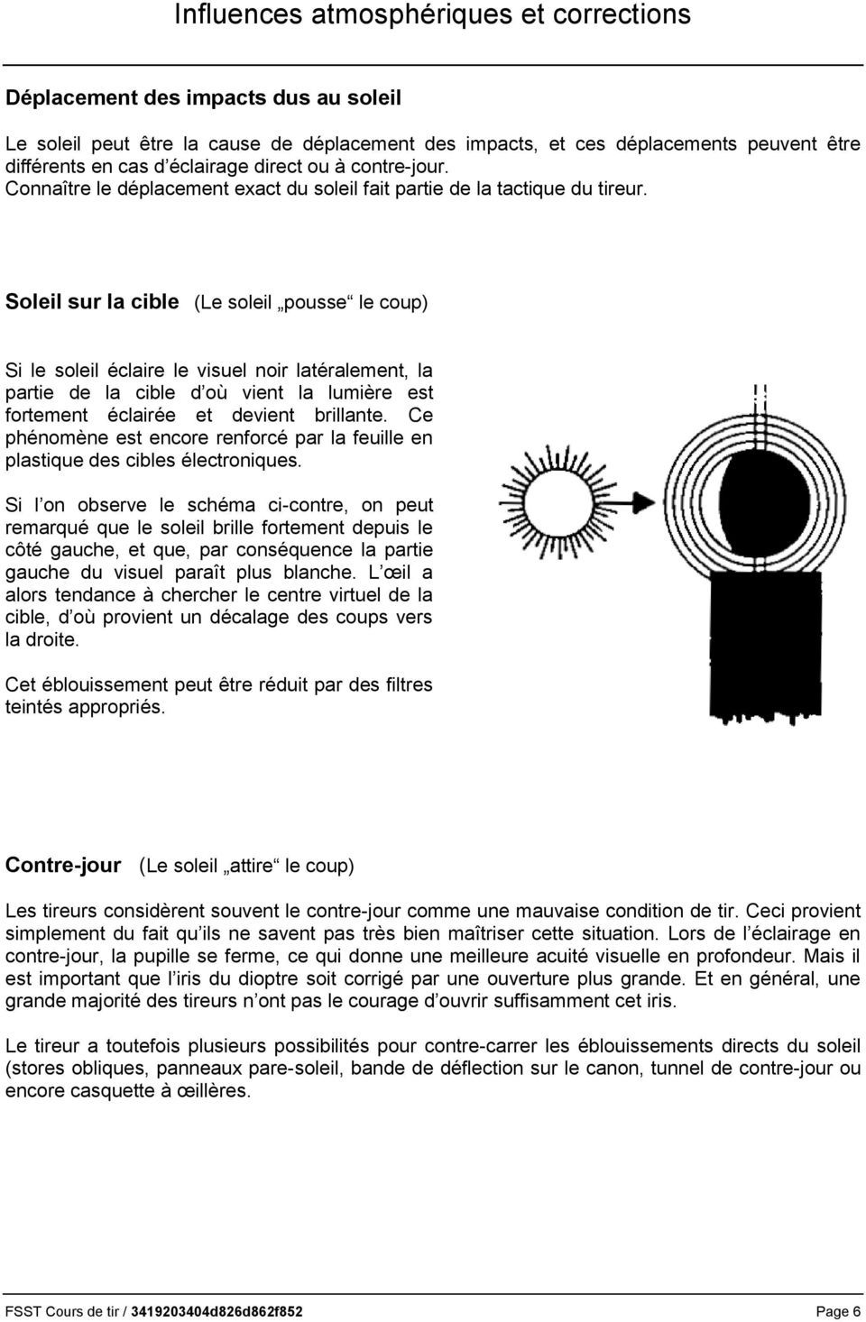 Ouverture et accord dioptre / guidon Page_611