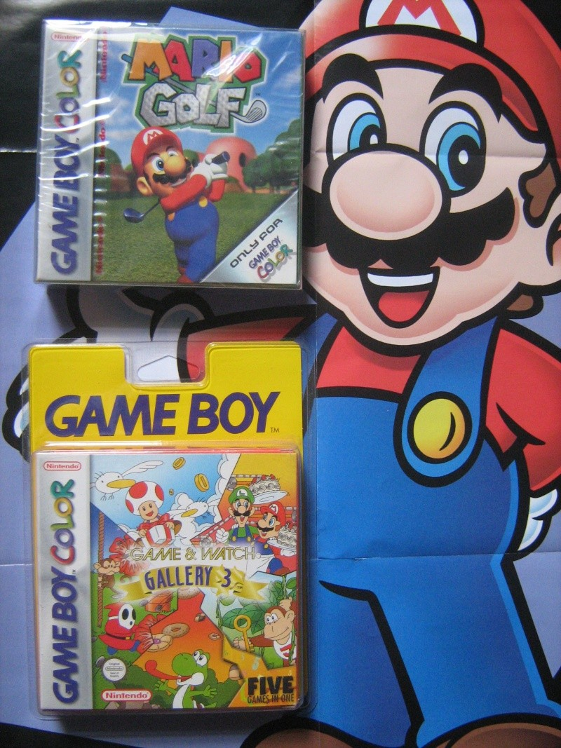 Ma collection mario : blister/console/jeux RARE et LIMITED (NEW 8/06) - Page 3 01812