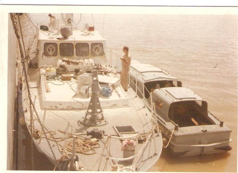 [ Divers Gendarmerie Maritime ] 1977 - Création de la brigade de gendarmerie maritime à Cayenne. Garonn10