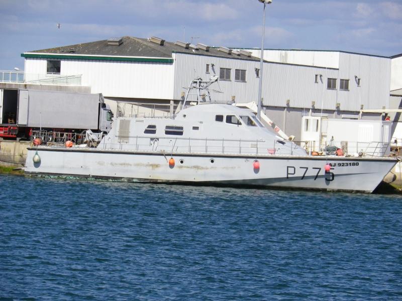 [ Divers Gendarmerie Maritime ] Reconversion des P.775 Stellis et P. 776 Sténia Mai_2010
