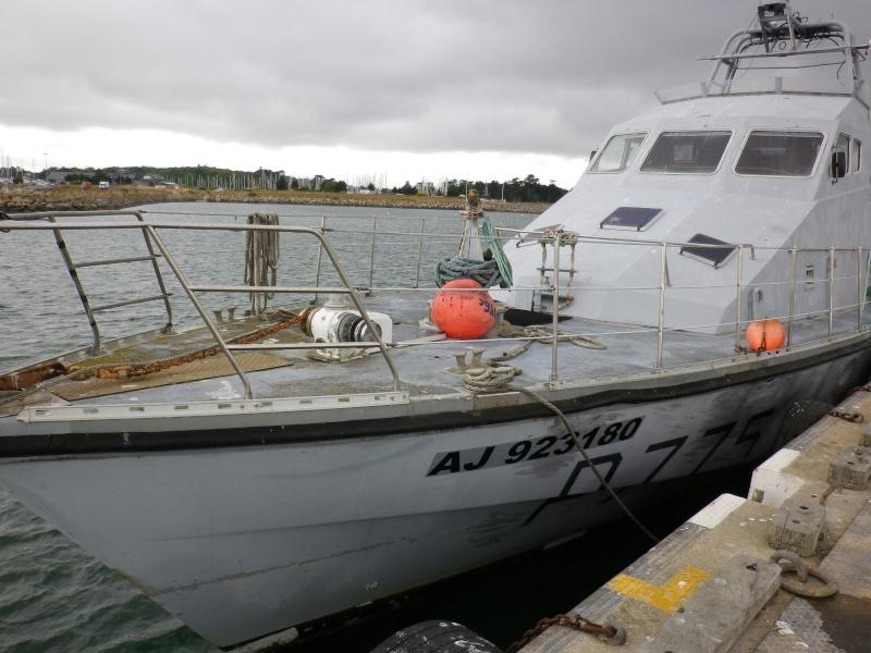 [ Divers Gendarmerie Maritime ] Reconversion des P.775 Stellis et P. 776 Sténia Mai_2011